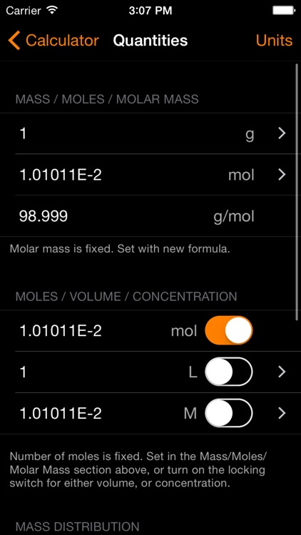 ChemTrix Chemistry Calculator