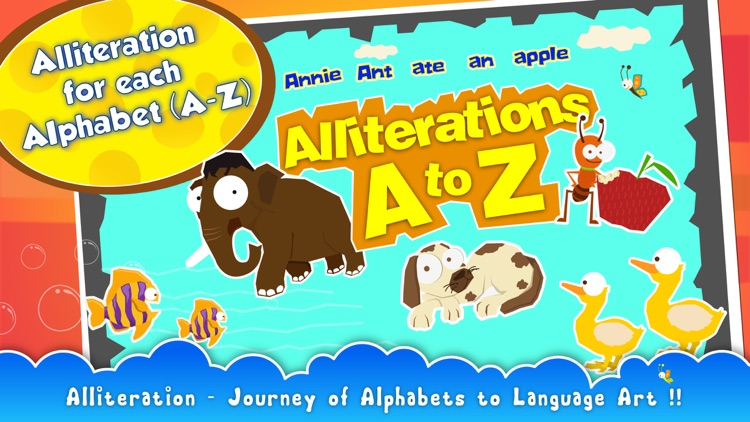 Alliterations A to Z screenshot-0