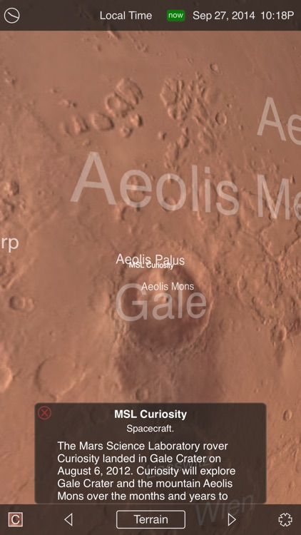 Mars Globe HD screenshot-1