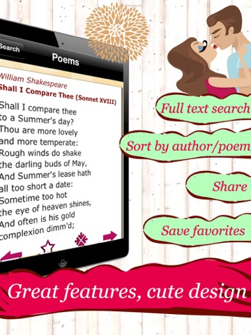 Love Poems - The 150 Most Romantic Poems for Lovers and Friendsのおすすめ画像5