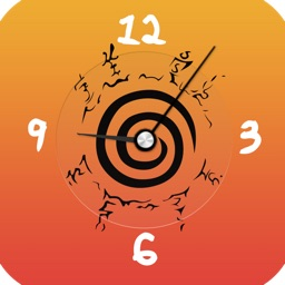 N.Clock for Naruto