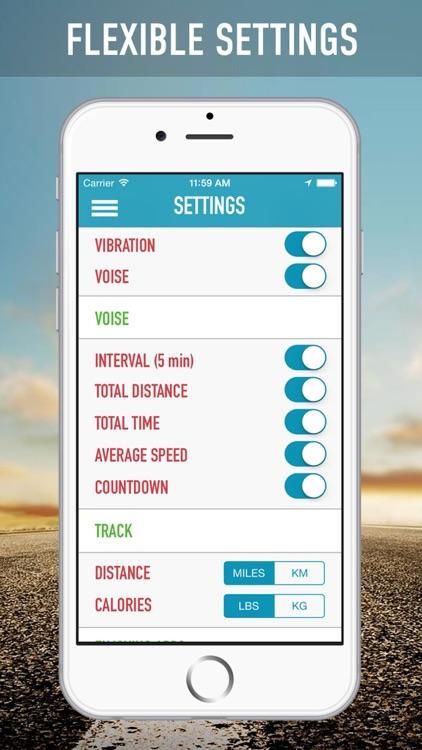 Keep My Run: Health Trainer, Calories Tracking, GPS Workout screenshot-3