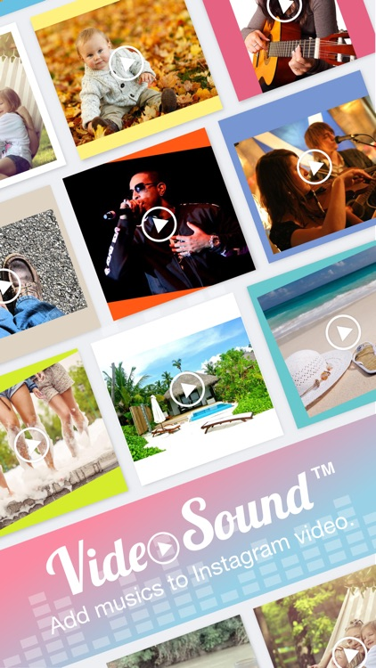Video Sound Pro for Instagram - Add and Merge 10 Background Musics to Your Recorded Video Clips screenshot-0