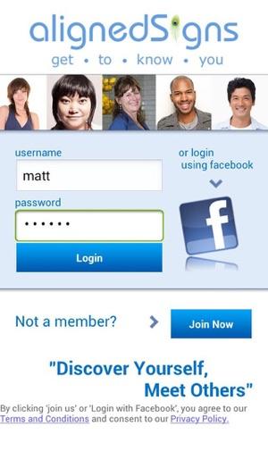 align dating app iphone