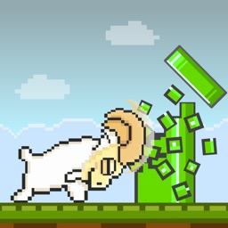 Tiny Goat FREE GAME - Quick Old-School 8-bit Pixel Art Retro Games