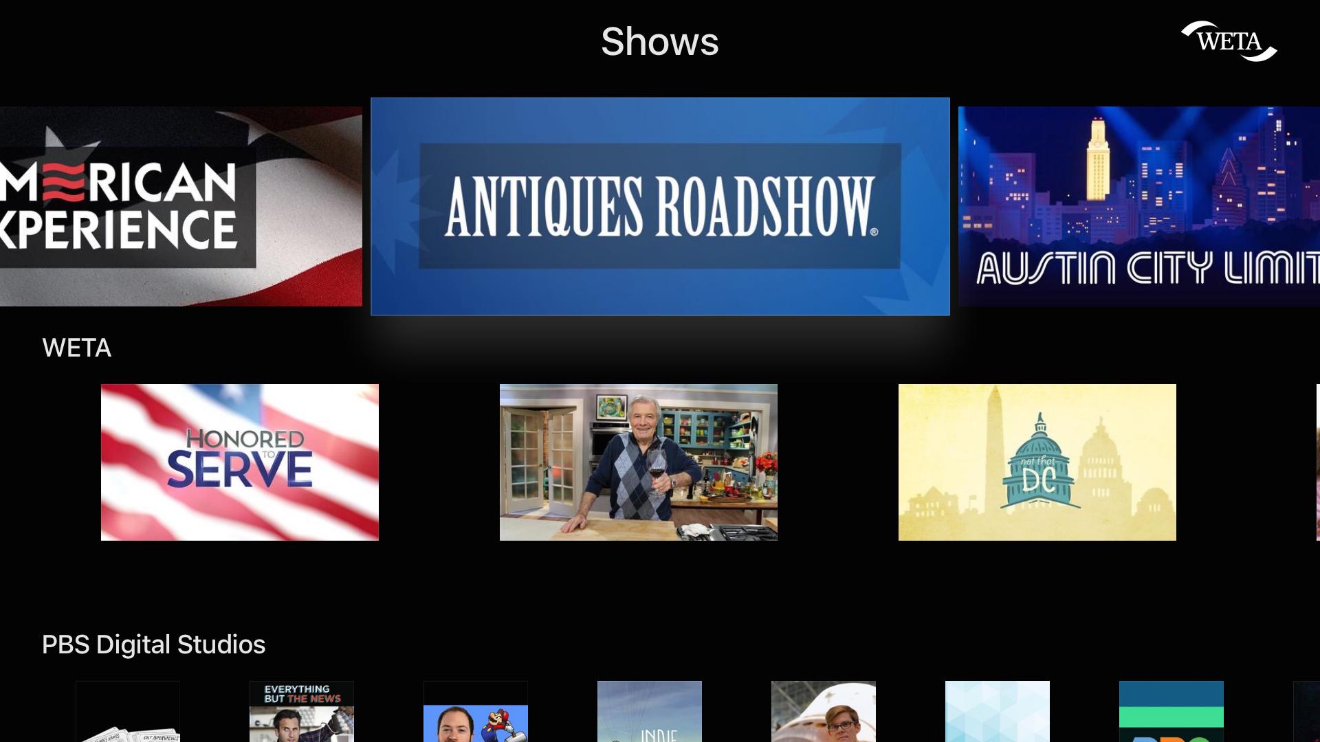 PBS Video screenshot 12