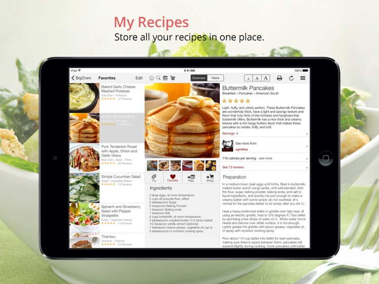 BigOven: 350,000+ Recipes and Grocery List screenshot-1