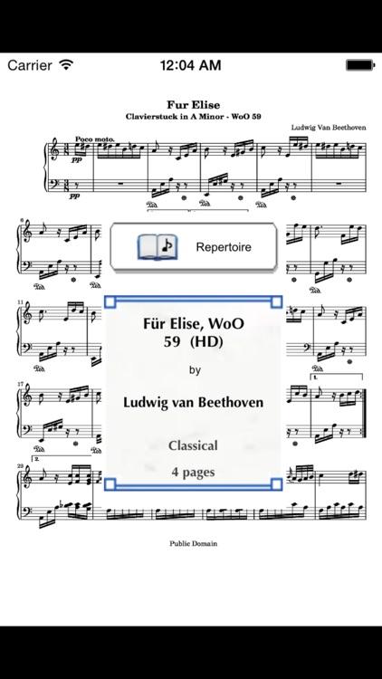 SheetRack - Original Sheet Music Score Reader