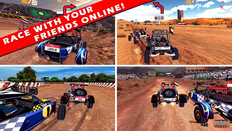 3D سباق البداير Badayer Racing screenshot-0