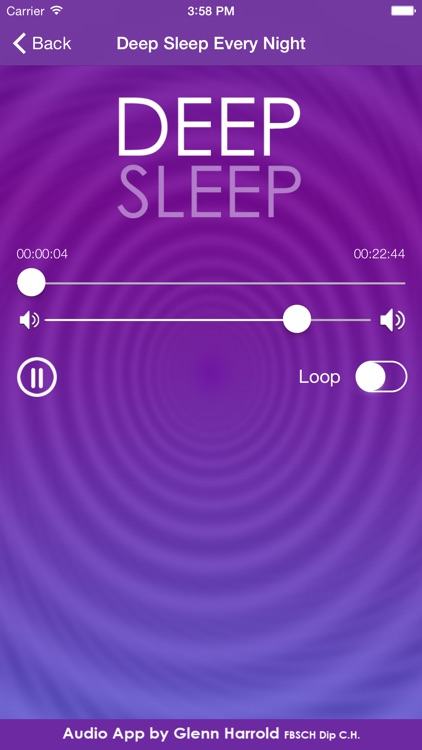 Deep Sleep by Glenn Harrold, a Self-Hypnosis Meditation for Relaxation screenshot-2