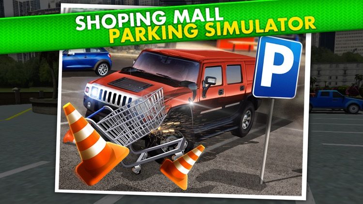 Shopping Mall Parking Driving Simulator - Real Car Racing Test Sim Run Race Games screenshot-0