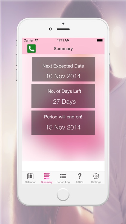 Period Logs Diary - Period Tracker, Menstrual Calendar & Ovulation / Fertility Diary screenshot-2
