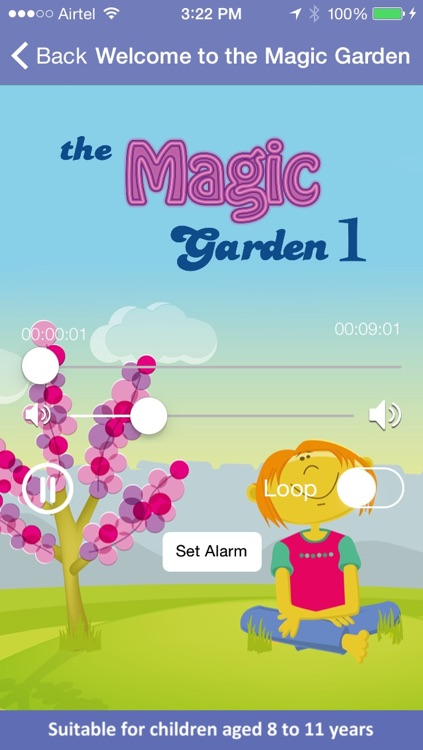 The Magic Garden 1 - Children's Meditation App by Heather Bestel