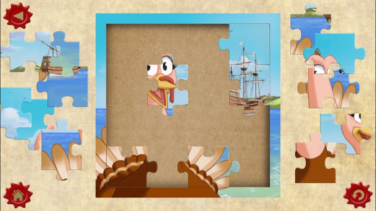 Thanksgiving Tale & Games - Gobble The Famous Turkey - eBook #1 - Lite version screenshot-3