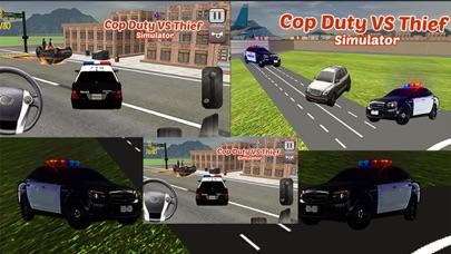 逮捕強盗という警官のデューティ·オフィサー - 泥棒駆動&レーシング対警察の車のスクリーンショット5