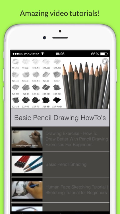 Pencil Drawing Beginner's Guide Pro
