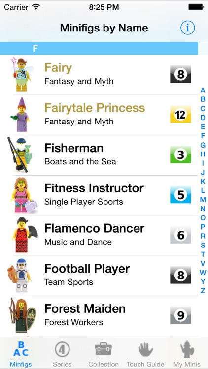 MyMinis - Lego Minifig Collector with Touch Guide screenshot-4
