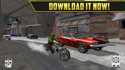 3D Motor-Bike Drag Race: Real Driving Simulator Racing Game Screenshot 5
