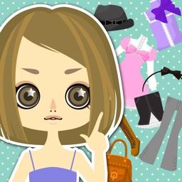 dress‐up doll