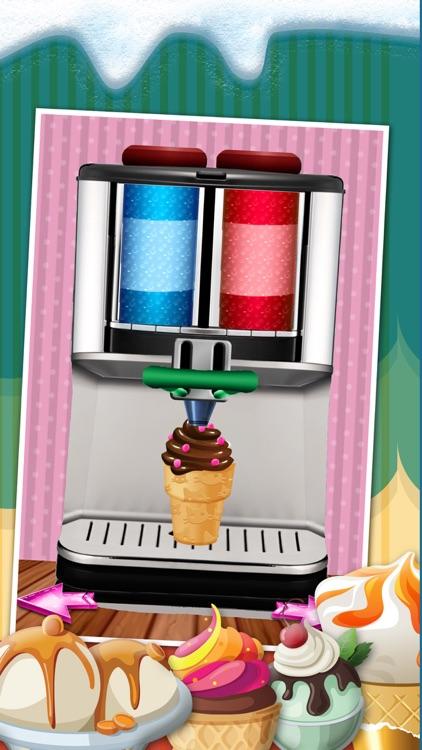 A Amazing Ice Cream Maker Game - Create Cones, Sundaes & Sweet Icy Sandwiches Shop screenshot-4