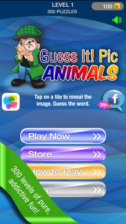 Guess It! Pic Animals Free Trivia Guessing Word Game – Unscramble the Hidden Wildlife and Domestic Farm Animal Puzzle Quizzes with Family and Friends! screenshot-0