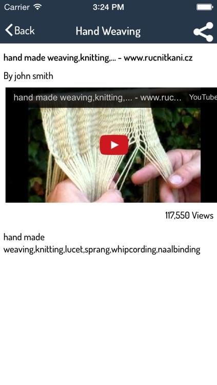 Loom Weaving Guide - Best Video Guide screenshot-3