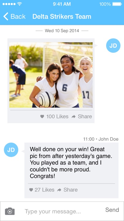Hedzup Messenger screenshot-2
