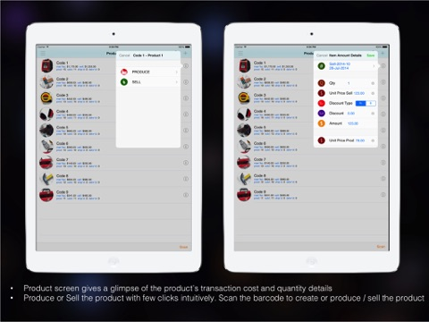 Goods Inventory Pro : for Manufacturer with multi location inventory-ipad-2