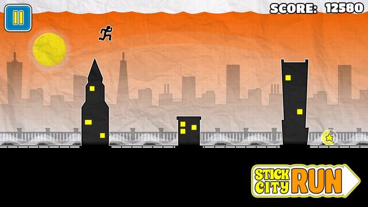 Stick City Run - By No One Dies Games screenshot-3