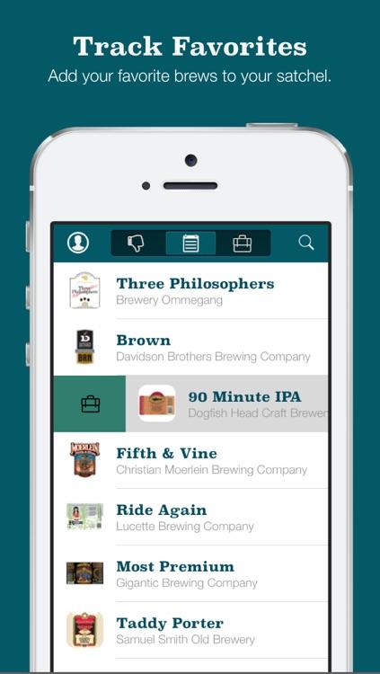 Beer Satchel • Beer Bucket List