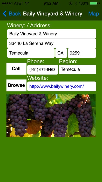 Temecula Valley and San Diego Winery Finder screenshot-3