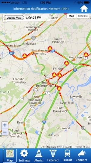 KMM s Traffic Alert App for NJ on the App Store