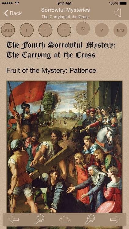 Scriptural Rosary Lite screenshot-0