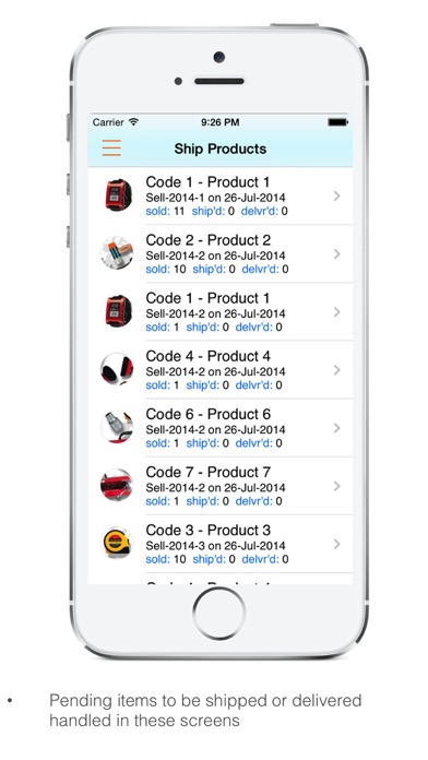 Goods Inventory Pro : for Manufacturer with multi location inventory-2