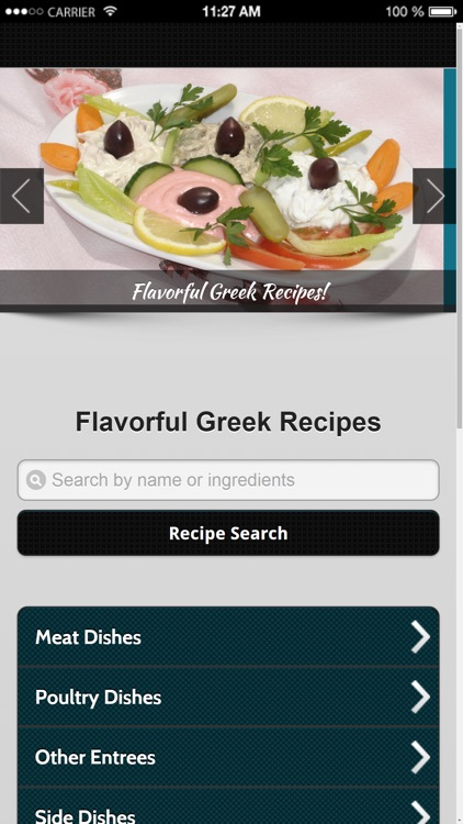 Greek Recipes from Flavorful Apps® screenshot-0