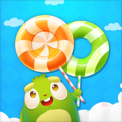 Candy Monster Tap - Candy Monster Grabbing, fast paced,coin collect,tapping,super fun free game!