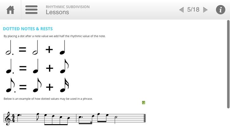 Musition Rhythmic Subdivision screenshot-2