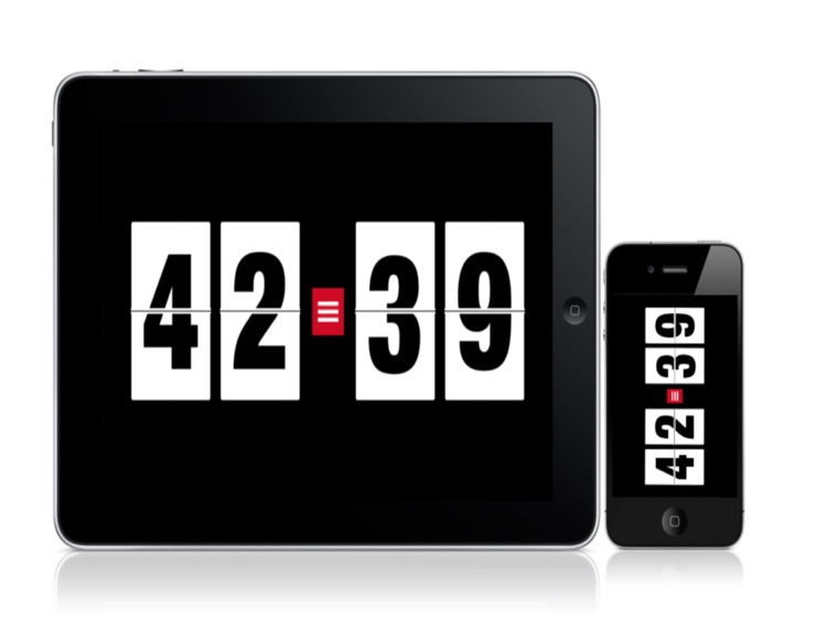 MyScoreboard for iPad