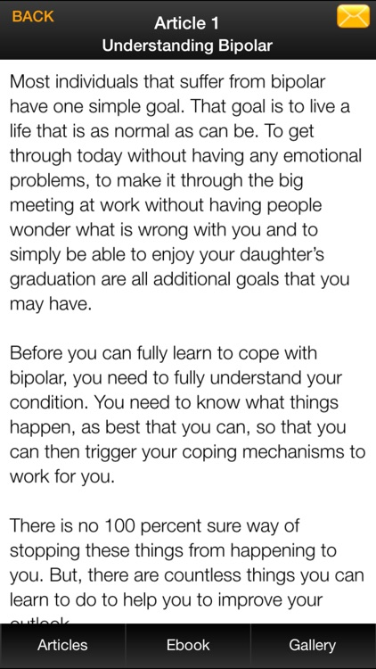 Bipolar Disorder Guide - Explaining The Truth About BiPolar Disorder screenshot-4