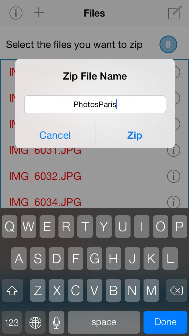 Zip&Unzip screenshot four
