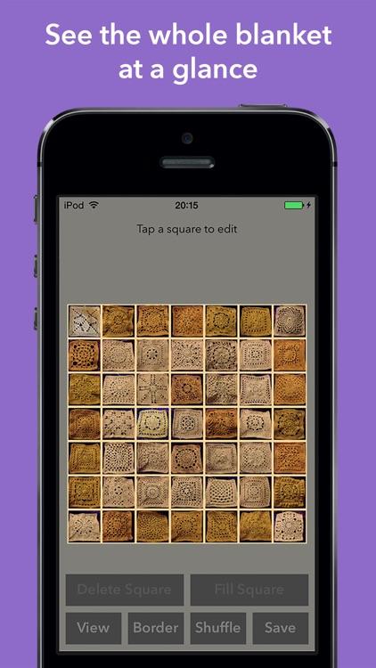 Blankie - Patchwork Blanket Designer with Ravelry Integration screenshot-3