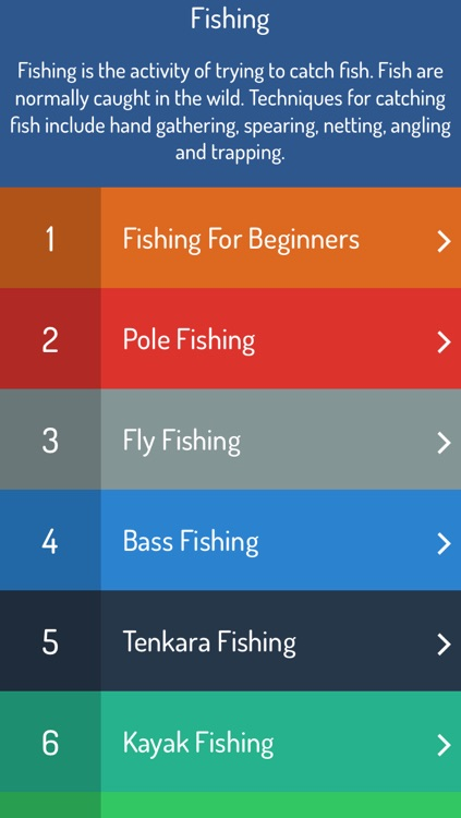 Fishing Guide - Ultimate Learning Guide