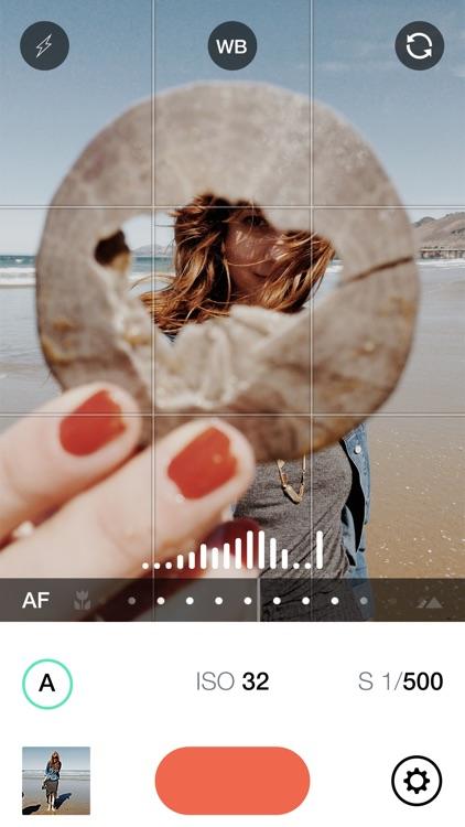 Manual – RAW custom exposure camera screenshot-0
