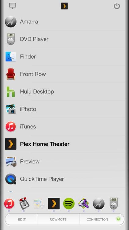Rowmote: Remote Control for Mac
