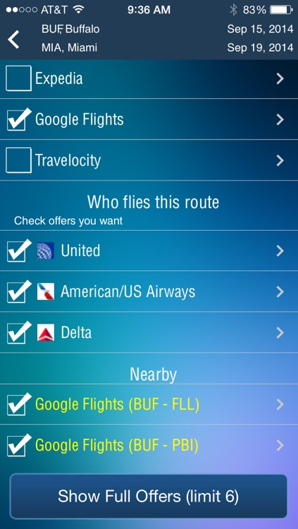 Buffalo Airport - Flight Tracker Premium screenshot-3