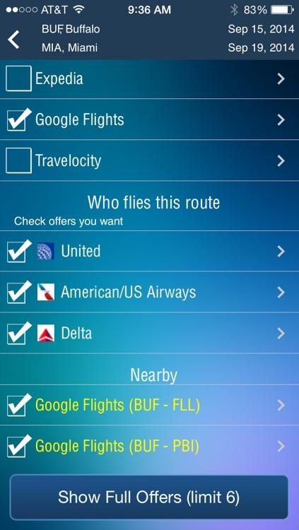 Buffalo Airport - Flight Tracker Premium screenshot-3