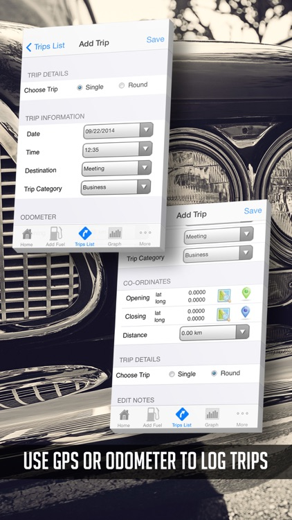 PRO Vehicle - International Fuel App - Gas Mileage MPG Calculator - GPS Car Logbook screenshot-3