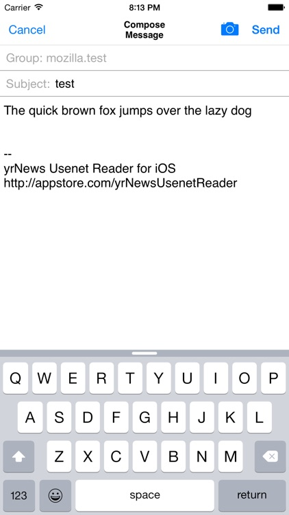 yrNews Usenet Reader screenshot-4