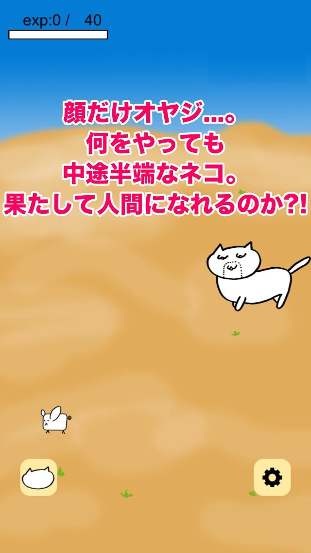 オヤジネコ 〜猫×オヤジの放置系育成ゲーム紹介画像1