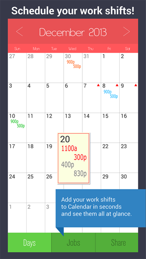 10 hour shift schedule calculator